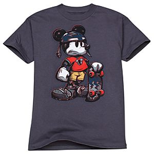 Skate Rat Mickey Mouse Tee for Boys