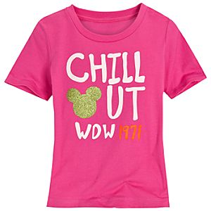 Chill Out Walt Disney World Tee for Girls