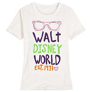 Sunglasses Walt Disney World Tee for Girls