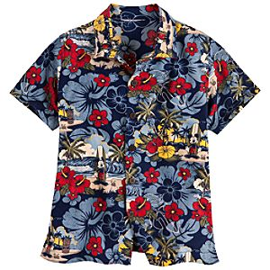 Surf Mickey Mouse Shirt for Boys