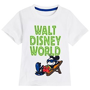 Vacation Walt Disney World Mickey Mouse Tee for Boys