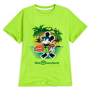 It's All About The Dude Walt Disney World Mickey Mouse Tee for Boys