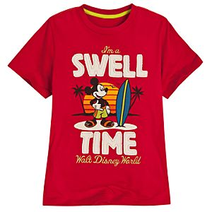 Im a Swell Time Walt Disney World Mickey Mouse Tee for Boys