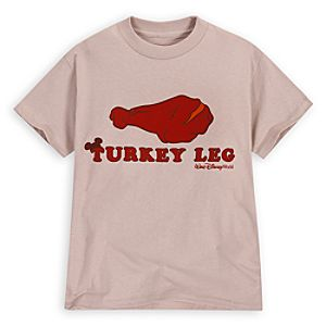 Turkey Leg Walt Disney World Tee for Boys