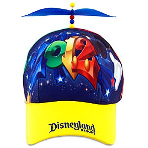 2012 Disneyland Propeller Baseball Cap for Kids