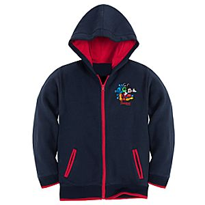 Zip Fleece 2012 Disneyland Hoodie for Boys