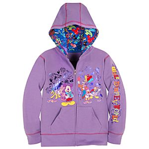 Storybook Walt Disney World Hoodie for Girls