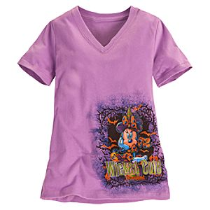Disneyland Halloween Minnie Mouse Tee for Girls