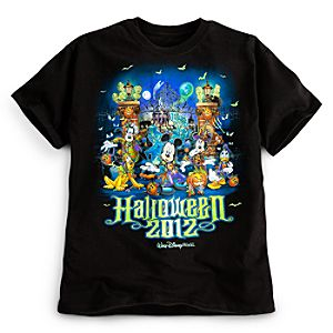 Walt Disney World Halloween Mickey Mouse Tee for Boys
