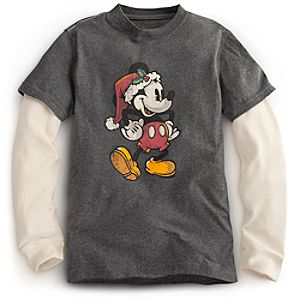 Mickey Mouse Tee for Boys - Holiday