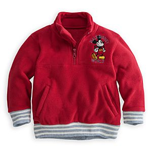 Mickey Mouse Fleece Pullover for Boys - Walt Disney World