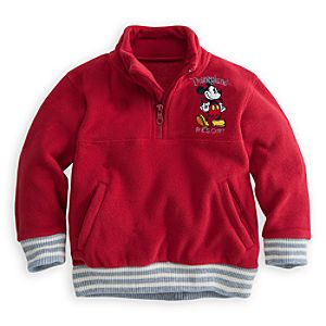 Mickey Mouse Fleece Pullover for Boys - Disneyland