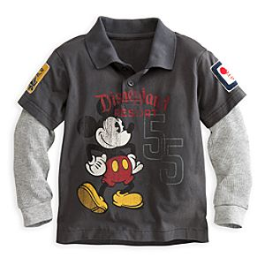 Mickey Mouse Polo for Boys - Disneyland