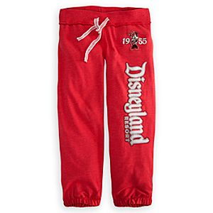 Minnie Mouse Sweatpants for Girls - Disneyland
