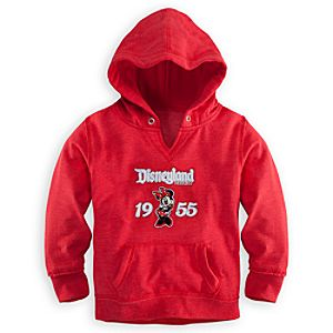 Minnie Mouse Hoodie for Girls - Disneyland