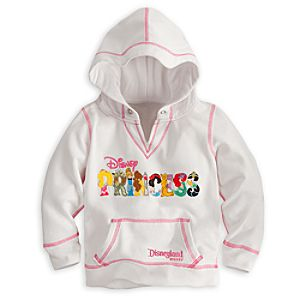 Disney Princess Hoodie for Girls - Disneyland