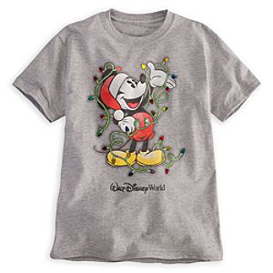 Mickey Mouse Tee for Boys - Holiday - Walt Disney World