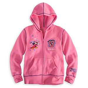 Sorcerer Mickey Mouse Hoodie for Girls - Walt Disney World 2013