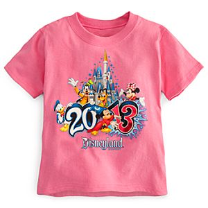 Sorcerer Mickey Mouse Tee for Toddler Girls - Disneyland 2013