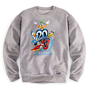 Sorcerer Mickey Mouse Sweatshirt for Boys - Walt Disney World 2013