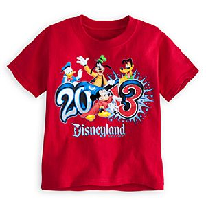Sorcerer Mickey Mouse Tee for Toddler Boys - Disneyland 2013