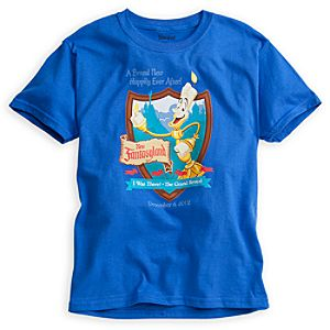 Lumiere Tee for Kids - New Fantasyland Walt Disney World