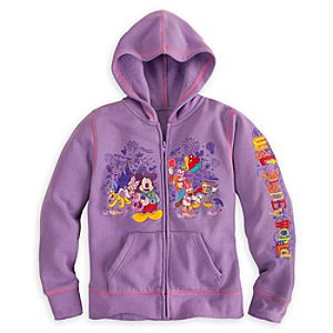 Mickey Mouse and Friends Hoodie for Girls - Walt Disney World