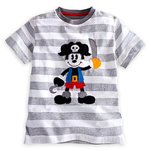 Mickey Mouse Tee for Boys - Pirates of the Caribbean