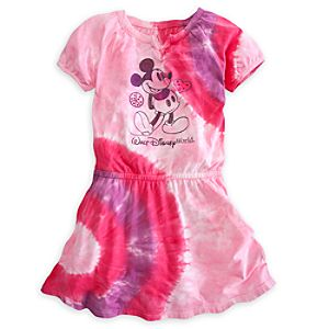 Mickey Mouse Tie Dye Dress for Girls - Walt Disney World