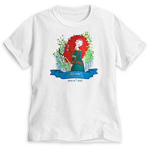 Merida Royal Celebration Tee for Girls - Limited Availability