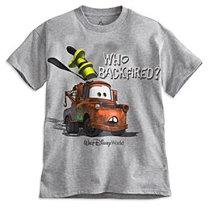 Tow Mater Tee for Boys - Walt Disney World