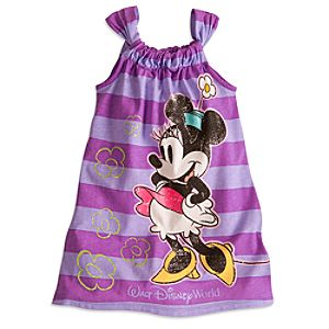Minnie Mouse Sun Dress For Girls - Walt Disney World