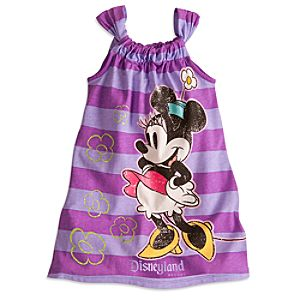 Minnie Mouse Sun Dress For Girls - Disneyland