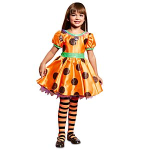 Minnie Mouse Halloween Dress for Girls