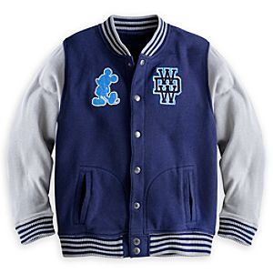 Mickey Mouse Letter Jacket for Boys - Walt Disney World