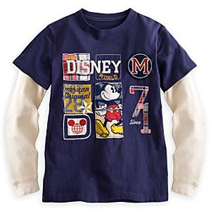 Mickey Mouse Long Sleeve Tee - Walt Disney World