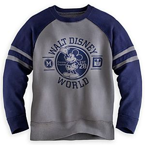 Mickey Mouse Crew Neck Top For Boys - Walt Disney World