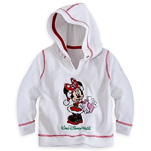 Minnie Mouse Holiday Hoodie for Girls - Walt Disney World