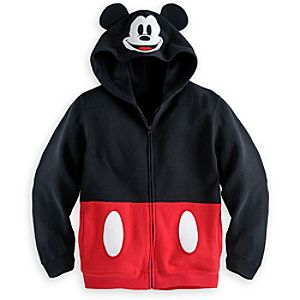 Mickey Mouse Ear Hood Jacket for Boys