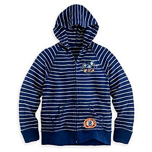 Mickey Mouse Striped Hooded Jacket for Boys - Walt Disney World