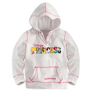 Disney Princess Letters Hoodie for Girls - Walt Disney World