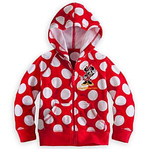 Minnie Mouse Polka Dot Hoodie for Girls - Walt Disney World