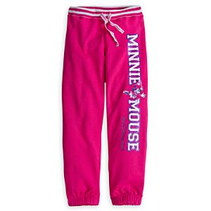 Minnie Mouse Collegiate Pants for Girls - Walt Disney World