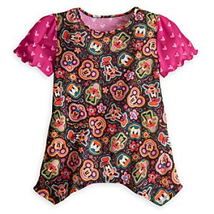 Mickey Mouse and Friends Trapeze Top for Girls
