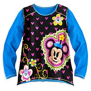 Minnie Mouse and Friends Trapeze Top for Girls