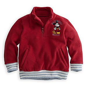 Mickey Mouse Hoodie - Red - Walt Disney World