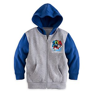 Sorcerer Mickey Mouse and Friends Hoodie for Boys - Walt Disney World 2014