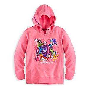 Sorcerer Mickey Mouse and Friends Hoodie for Girls - Walt Disney World 2014