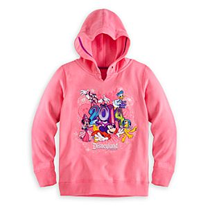 Sorcerer Mickey Mouse and Friends Hoodie for Girls - Disneyland 2014