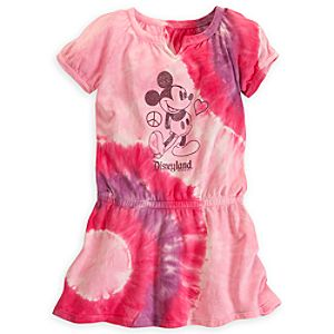 Mickey Mouse Tie Dye Dress for Girls - Disneyland